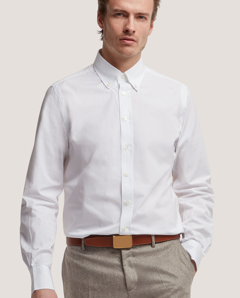 DALE Slim fit shirt | Poplin Cotton by Salle Privée