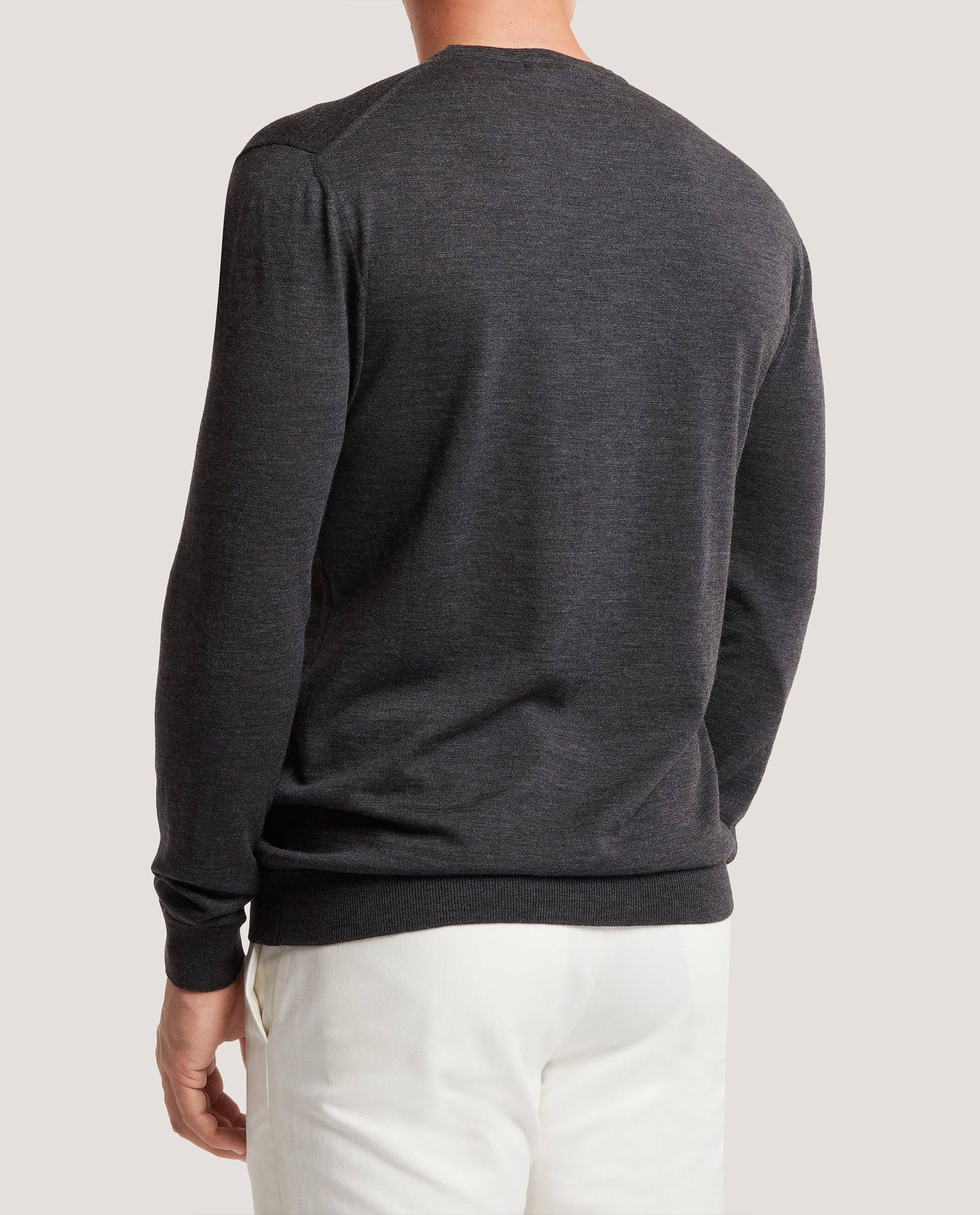 PAOL Merino wool sweater | Dark Grey