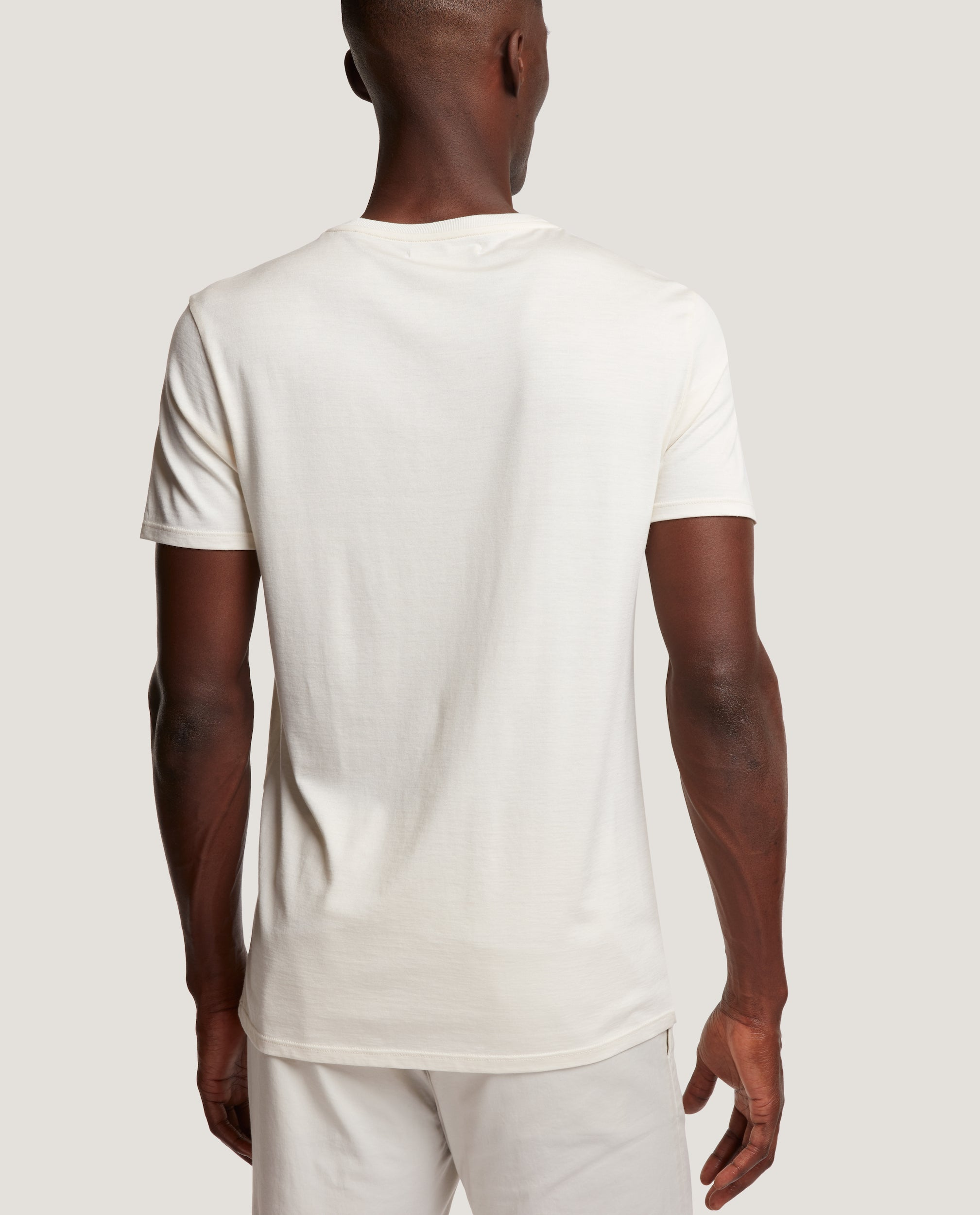 LOTHAR T-shirt | Silk Blend | Natural
