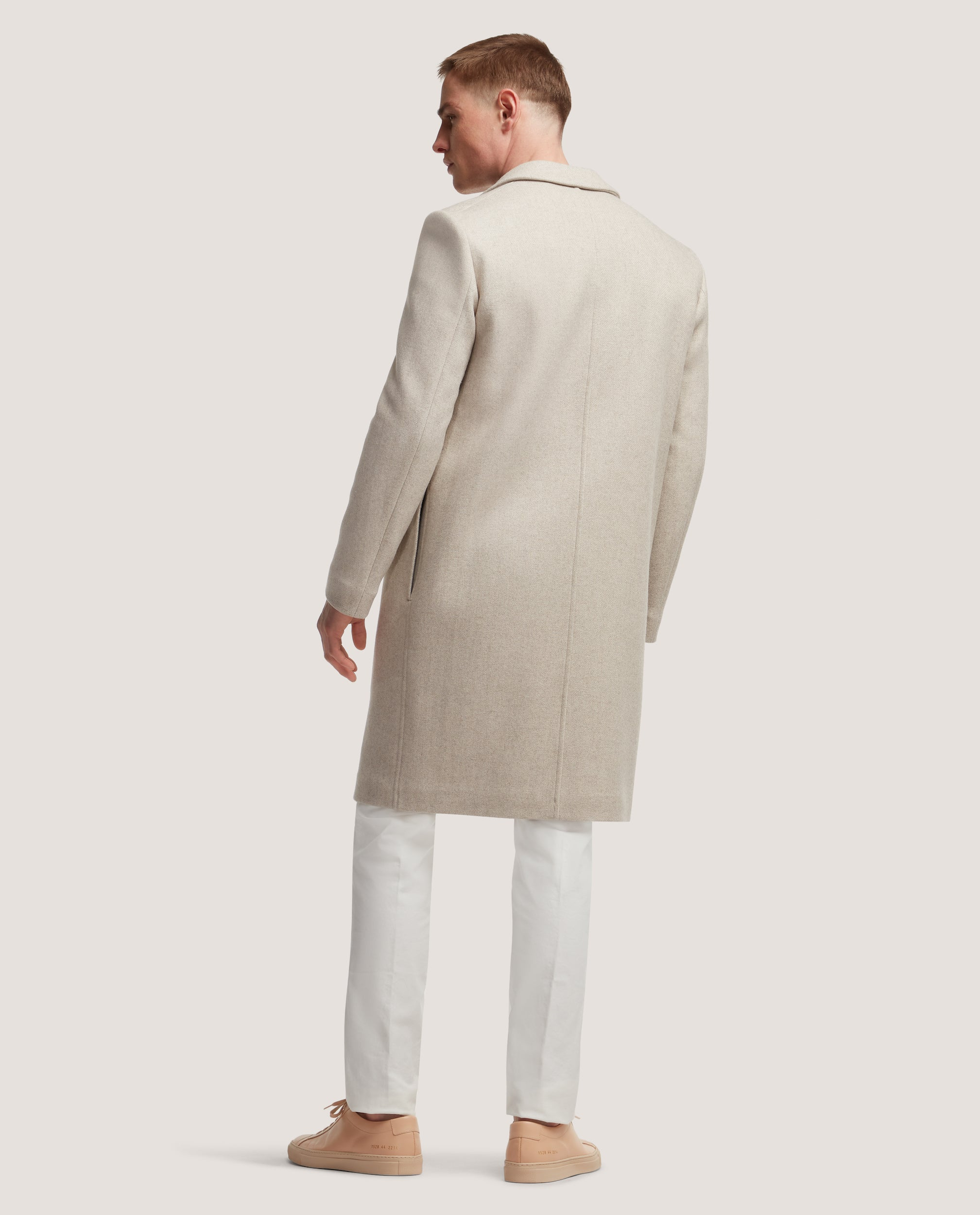 CONAN Oversized wool overcoat