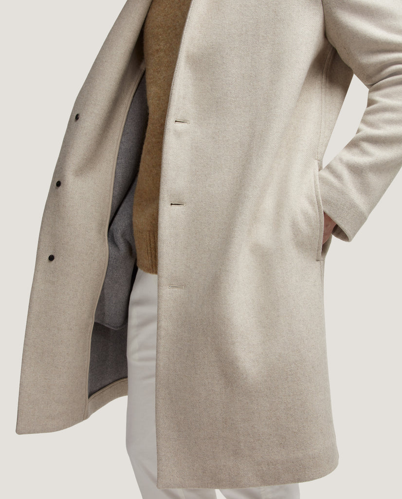 CONAN Oversized wool overcoat by Salle Privée