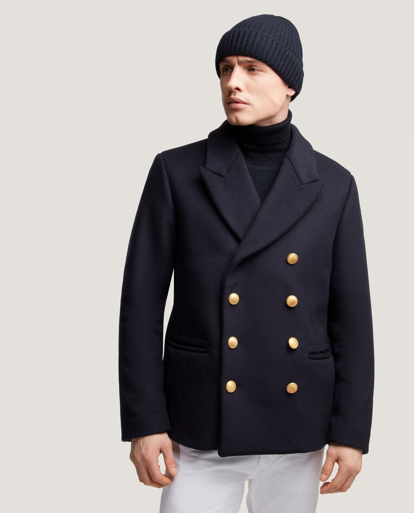 DAVEN Peacoat sailor | Night Blue by Salle Privée