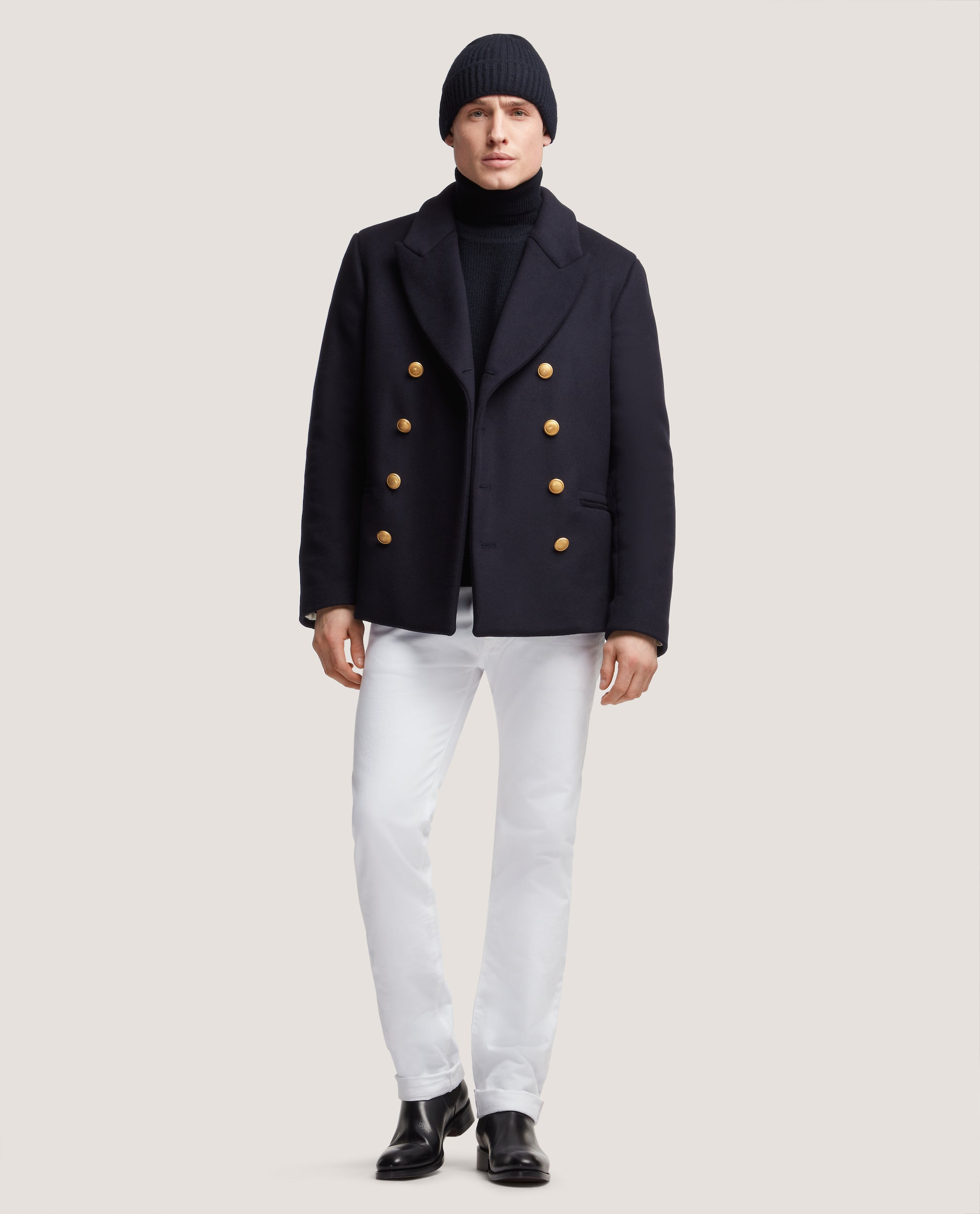 DAVEN Peacoat sailor | Night Blue
