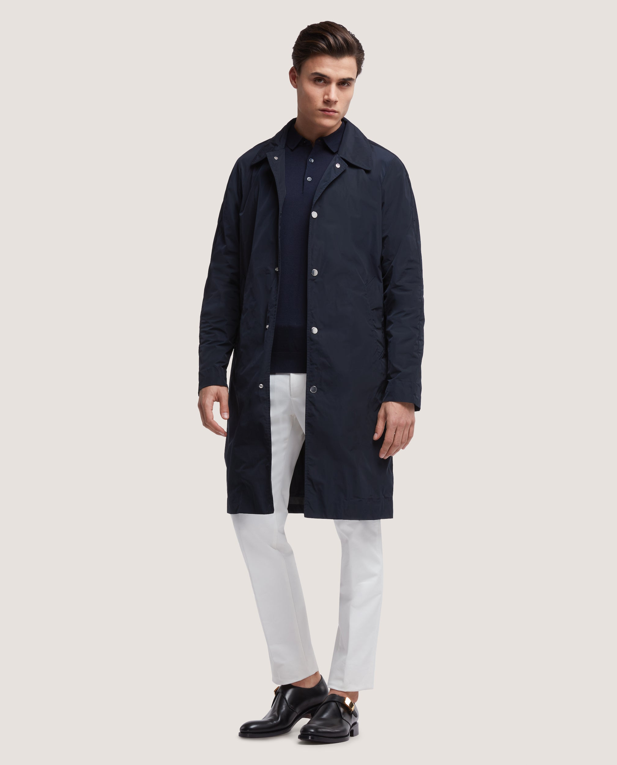 PIERRE Raincoat | Night Blue