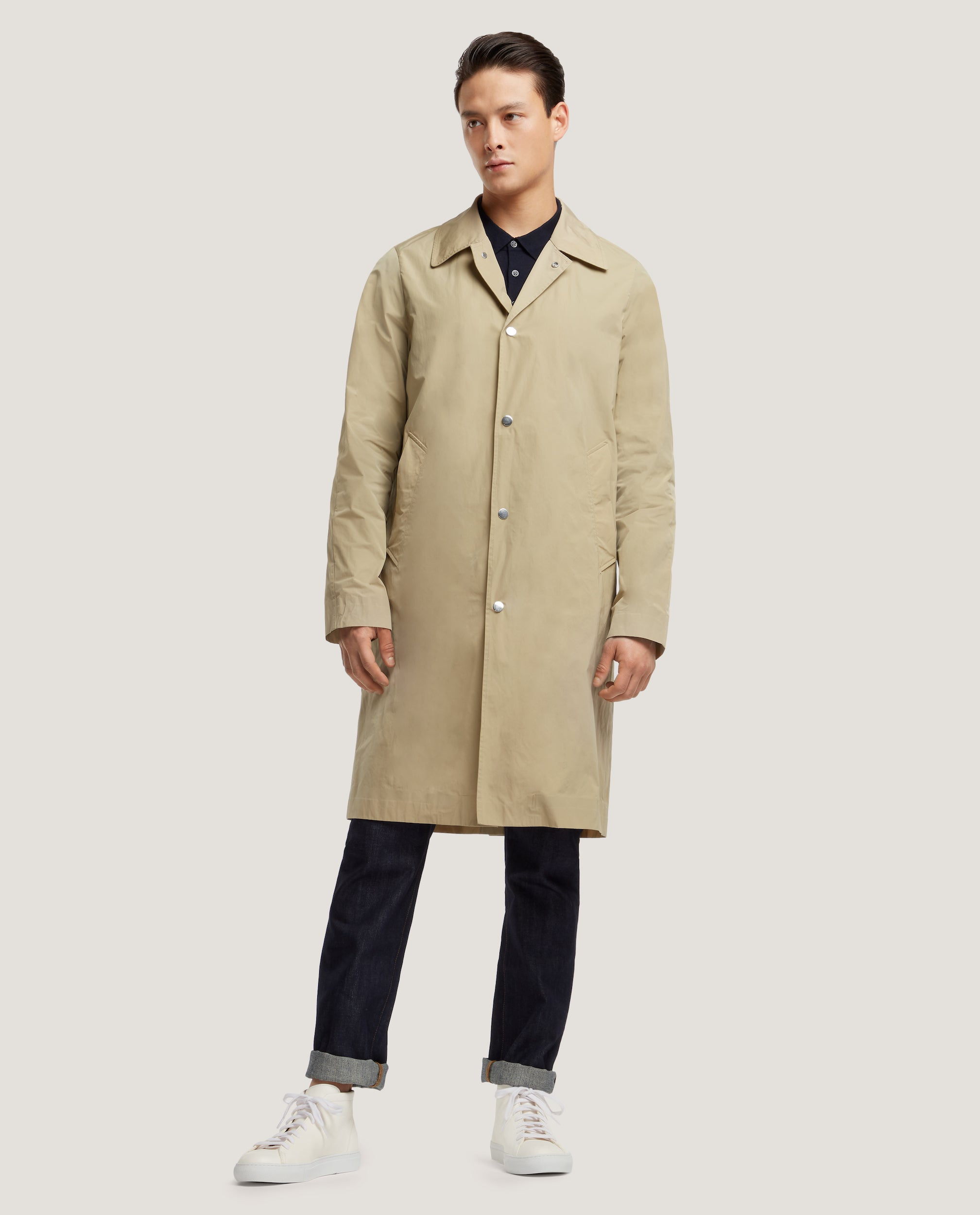 PIERRE Raincoat | Sand