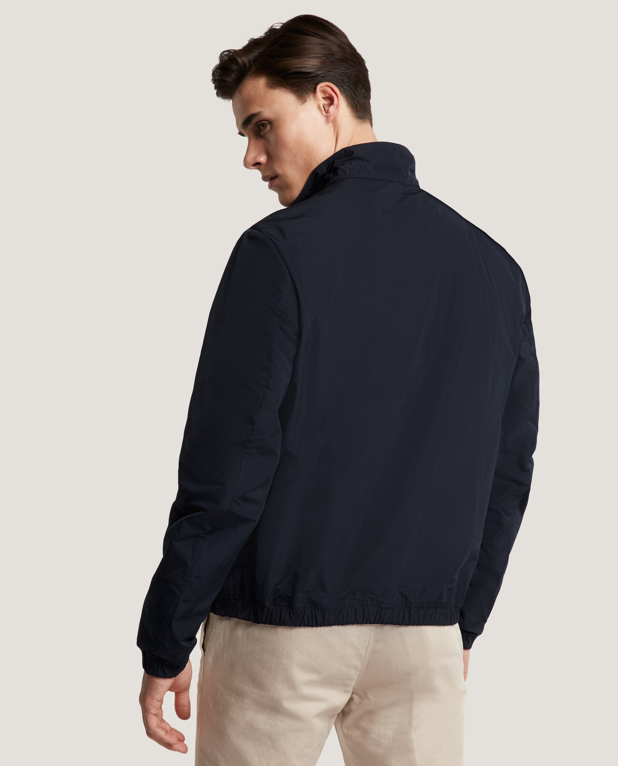 EWEN Harrington jacket | Water-repellent | Night Blue