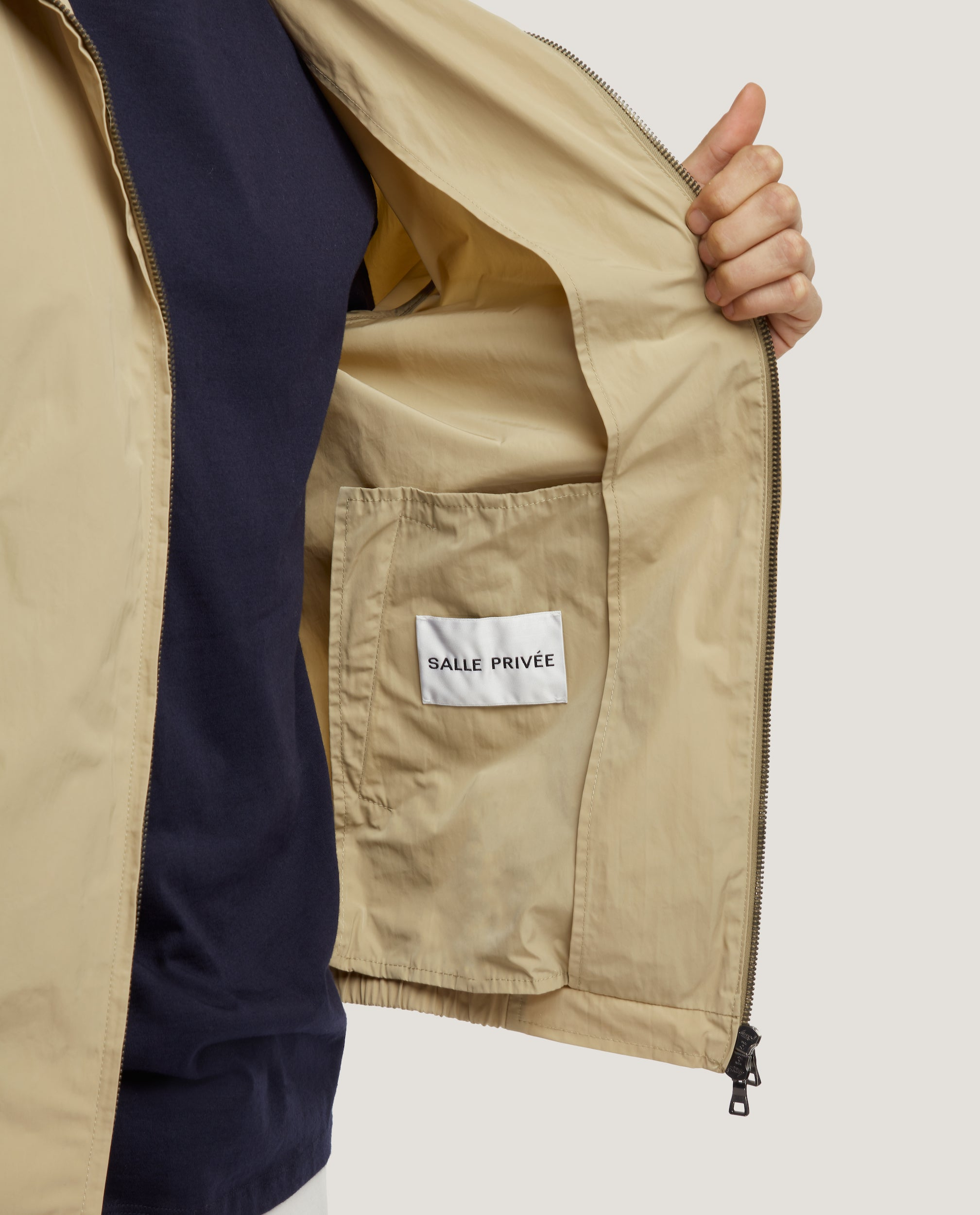 EWEN Harrington jacket | Water-repellent | Sand