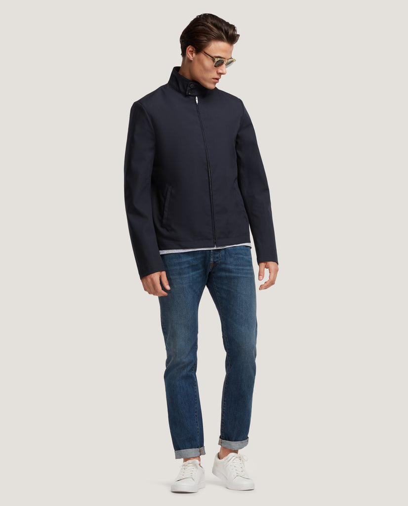 HARVEY Blouson jacket | Night Blue by Salle Privée