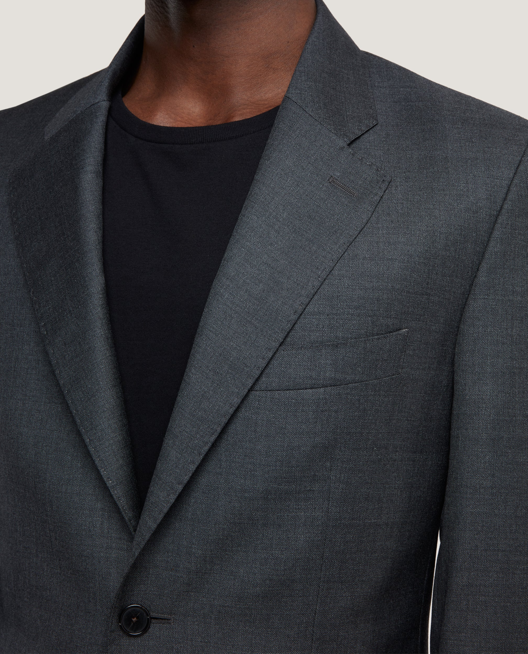NESS Fully lined blazer | Wool-mohair blend
