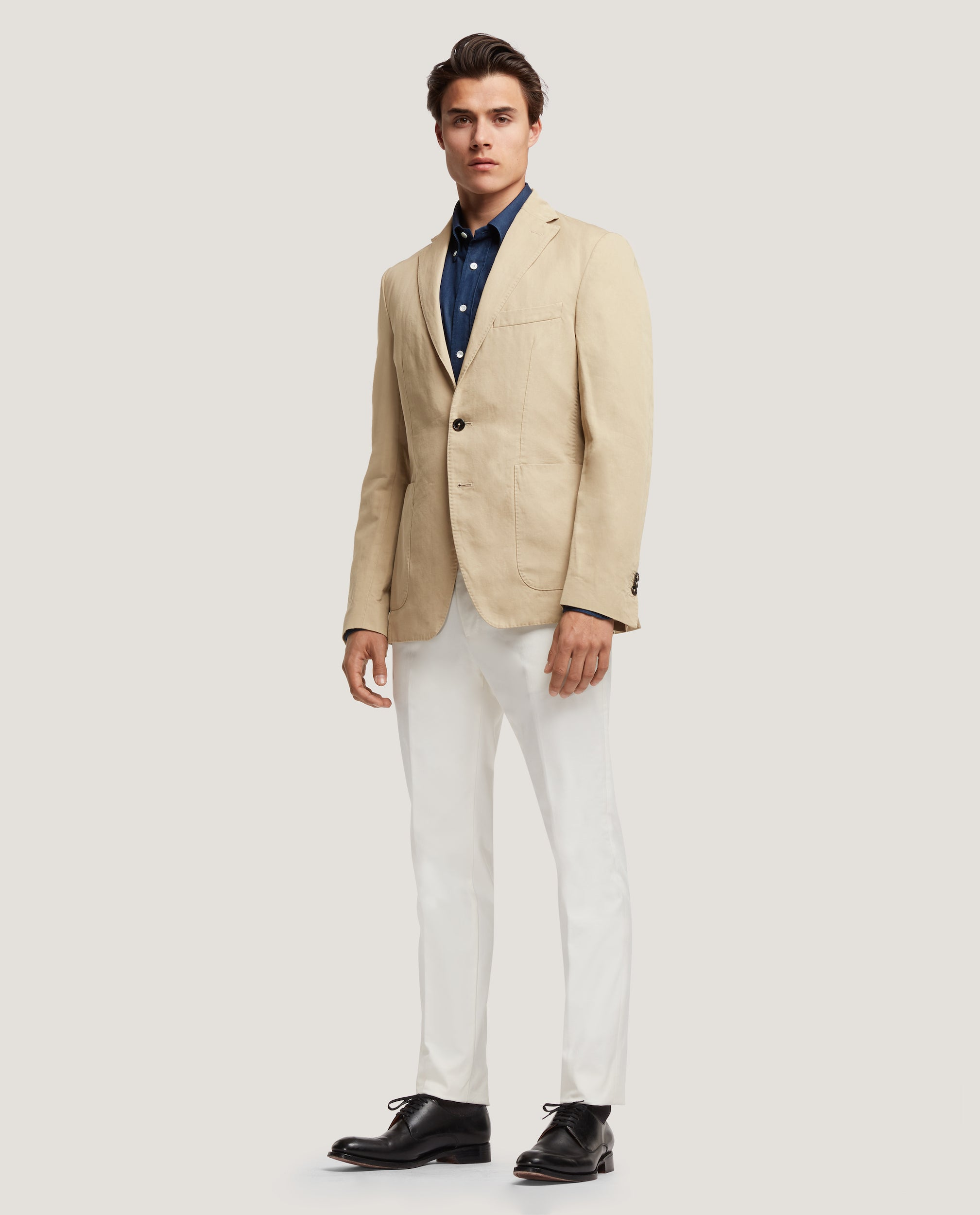 ROSS&GEHRY Summer suit | Cotton Linen | Beige