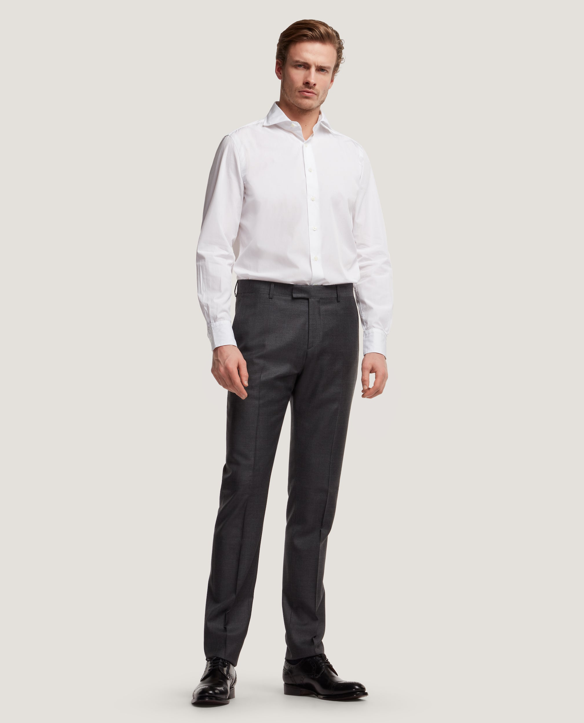 ROCCO SUIT TROUSERS | WOOL-MOHAIR BLEND by Salle Privée