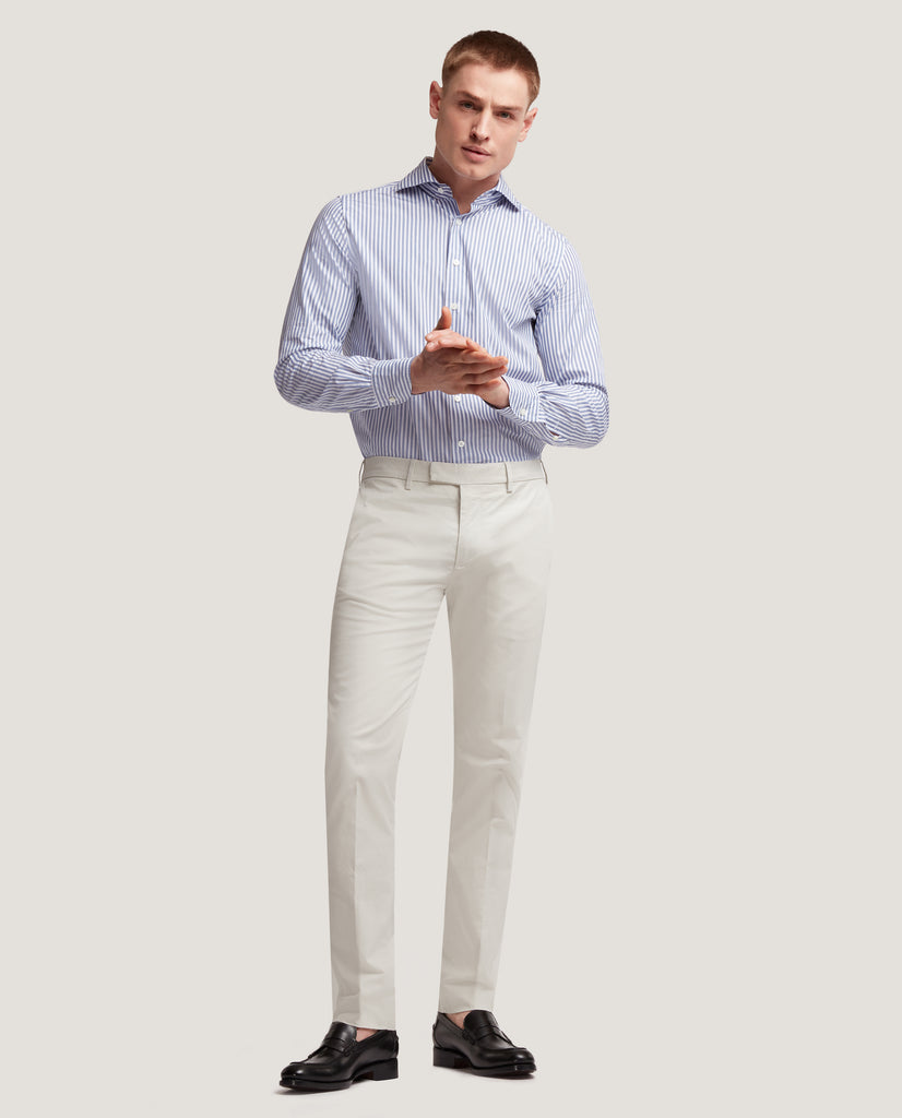 GEHRY Chino trousers | Slim fit | Light cotton by Salle Privée
