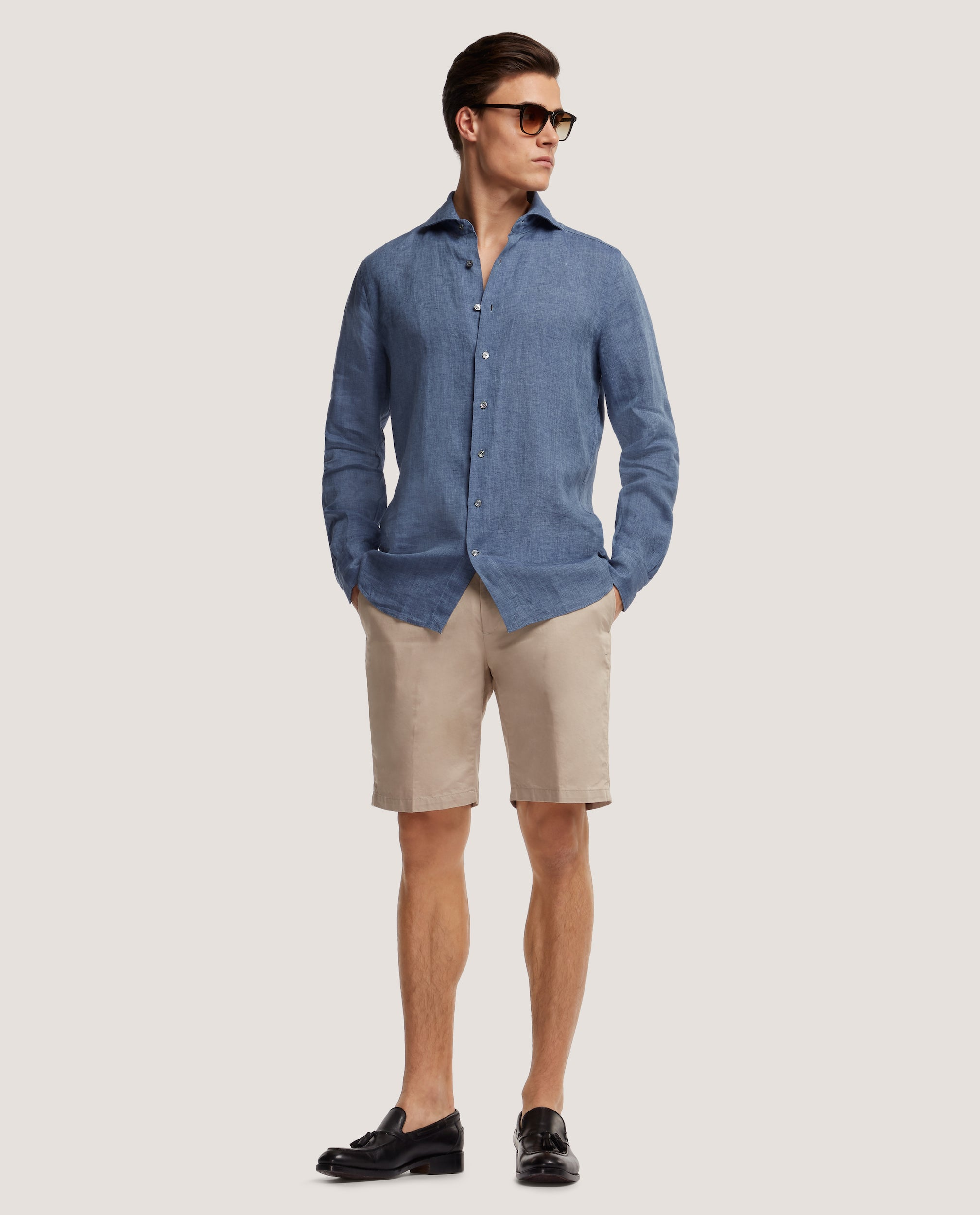 EVRON Slim fit shirt | Linen