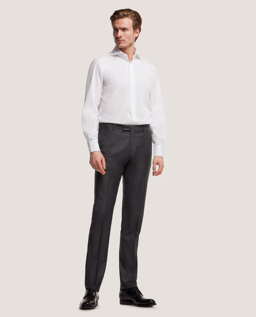 EVRON Slim fit shirt | Light poplin by Salle Privée