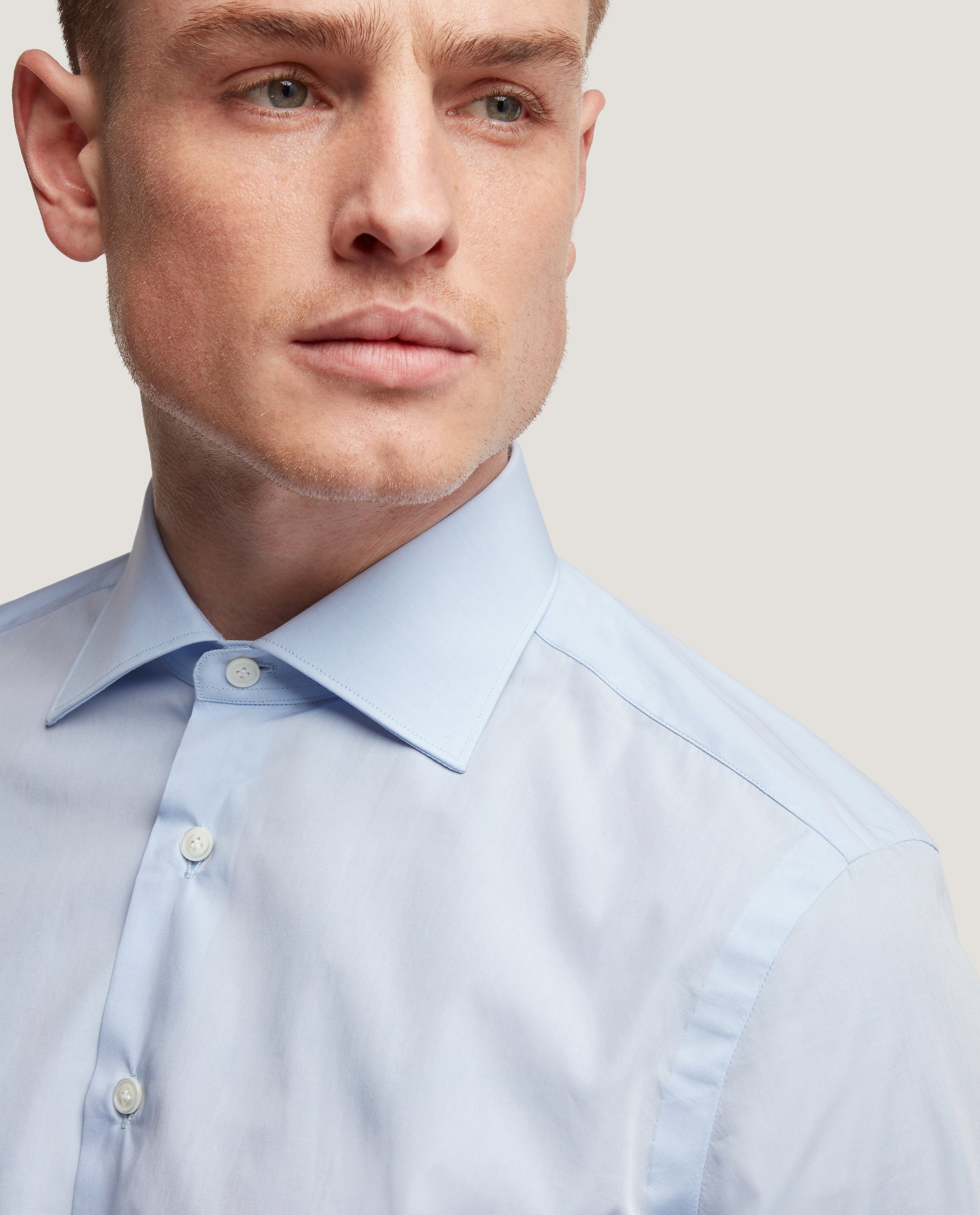FINN Slim fit shirt | Double cuff | Poplin