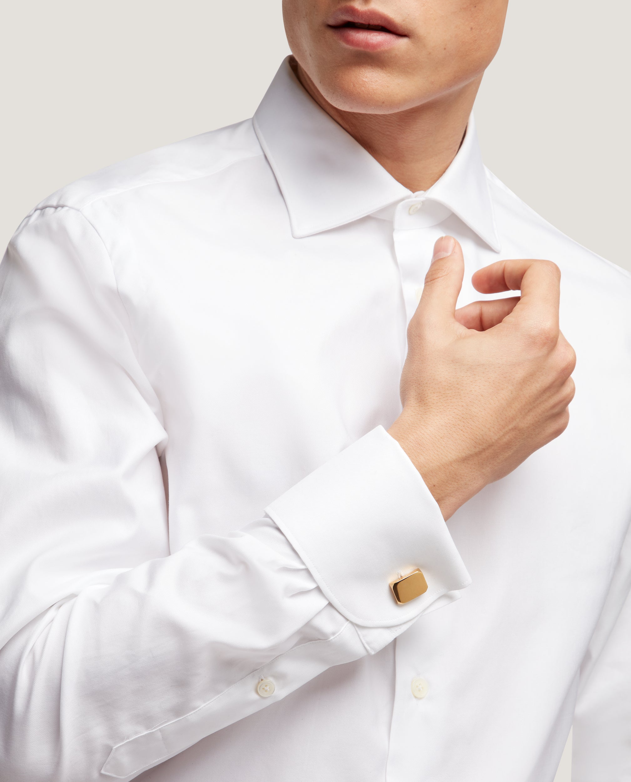 FINN Slim fit shirt | Double cuff | Oxford