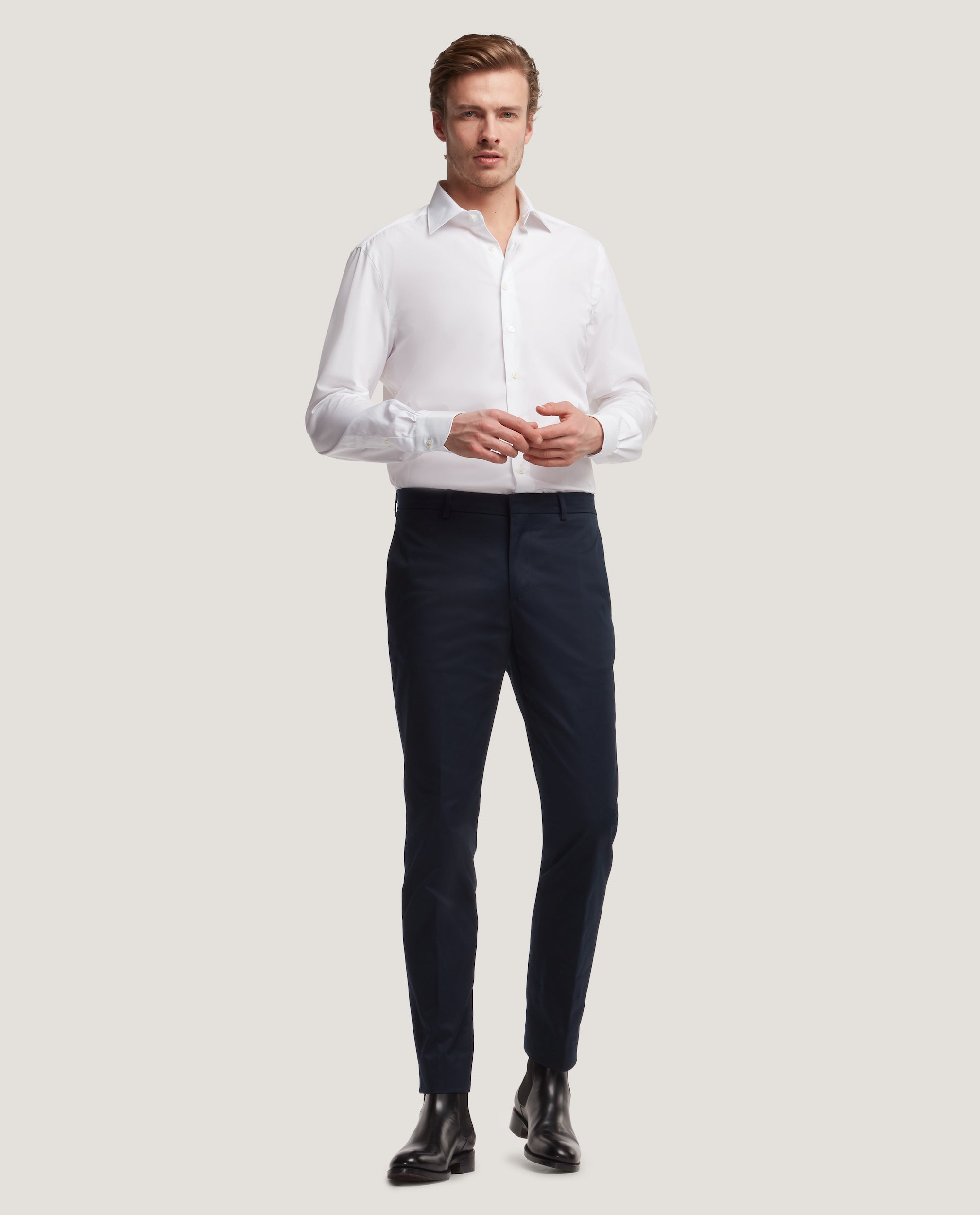MART REGULAR FIT SHIRT | POPLIN by Salle Privée