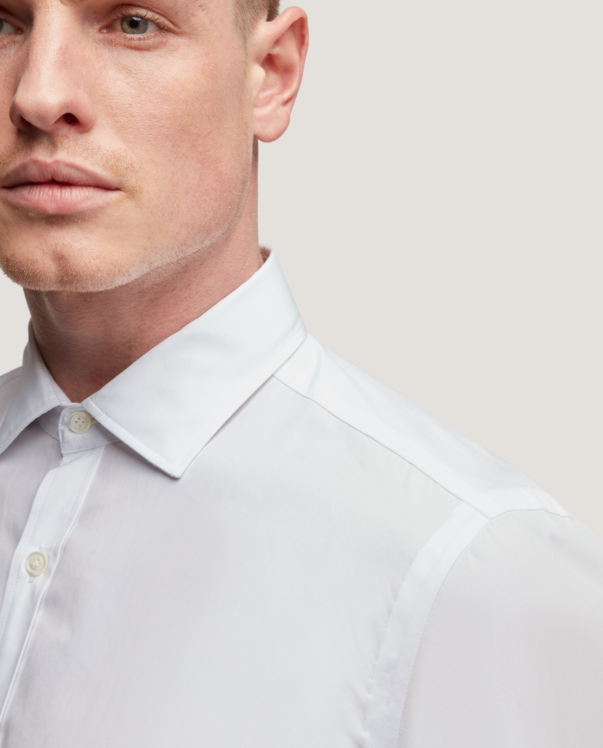 CURTIS Slim fit shirt | Poplin