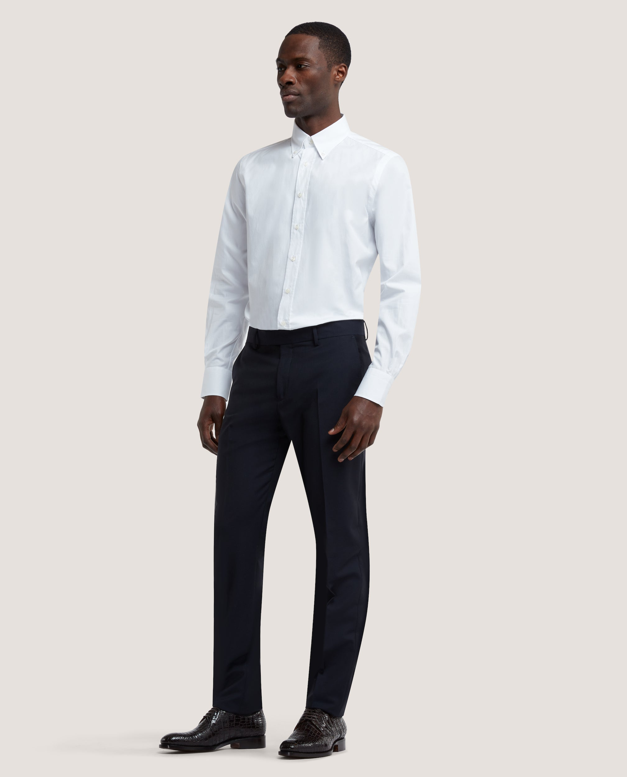 DALE Slim fit shirt | Cotton Twill