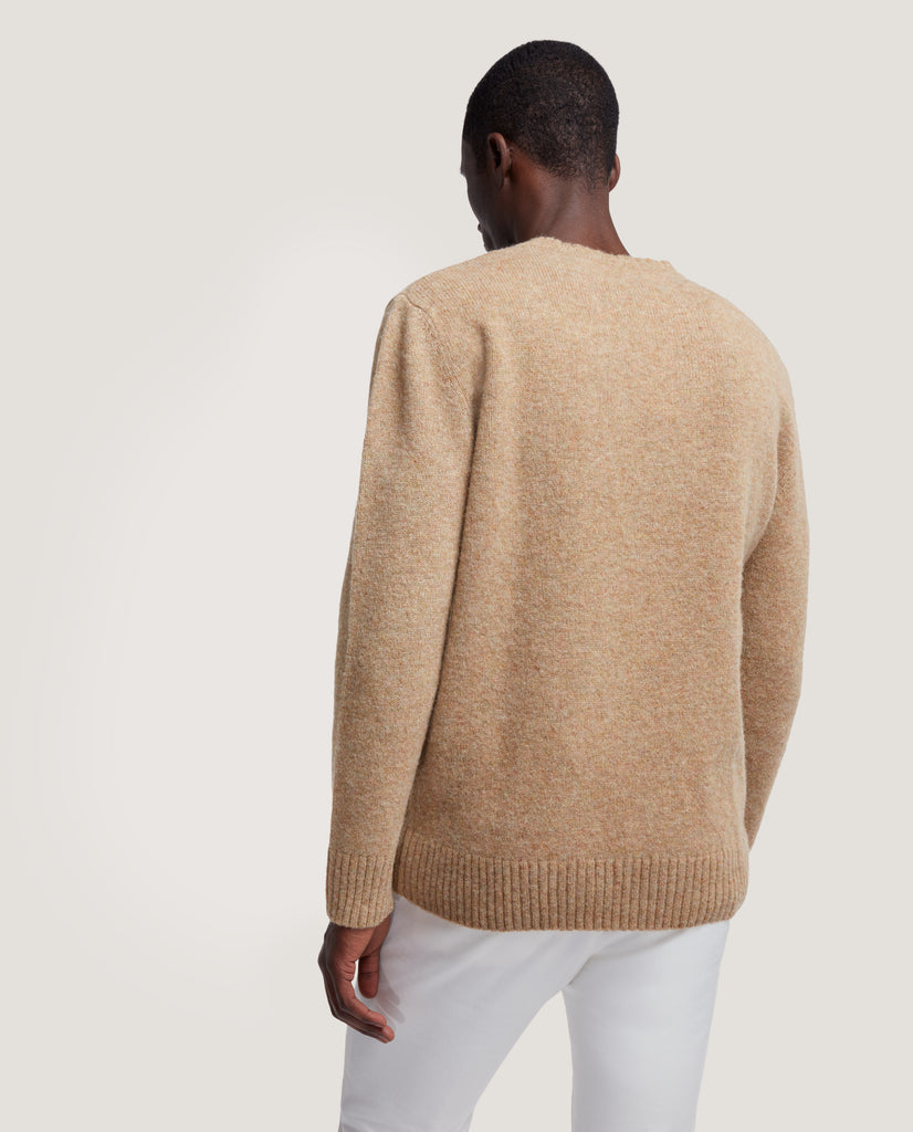 AREN Wool Sweater | Camel by Salle Privée