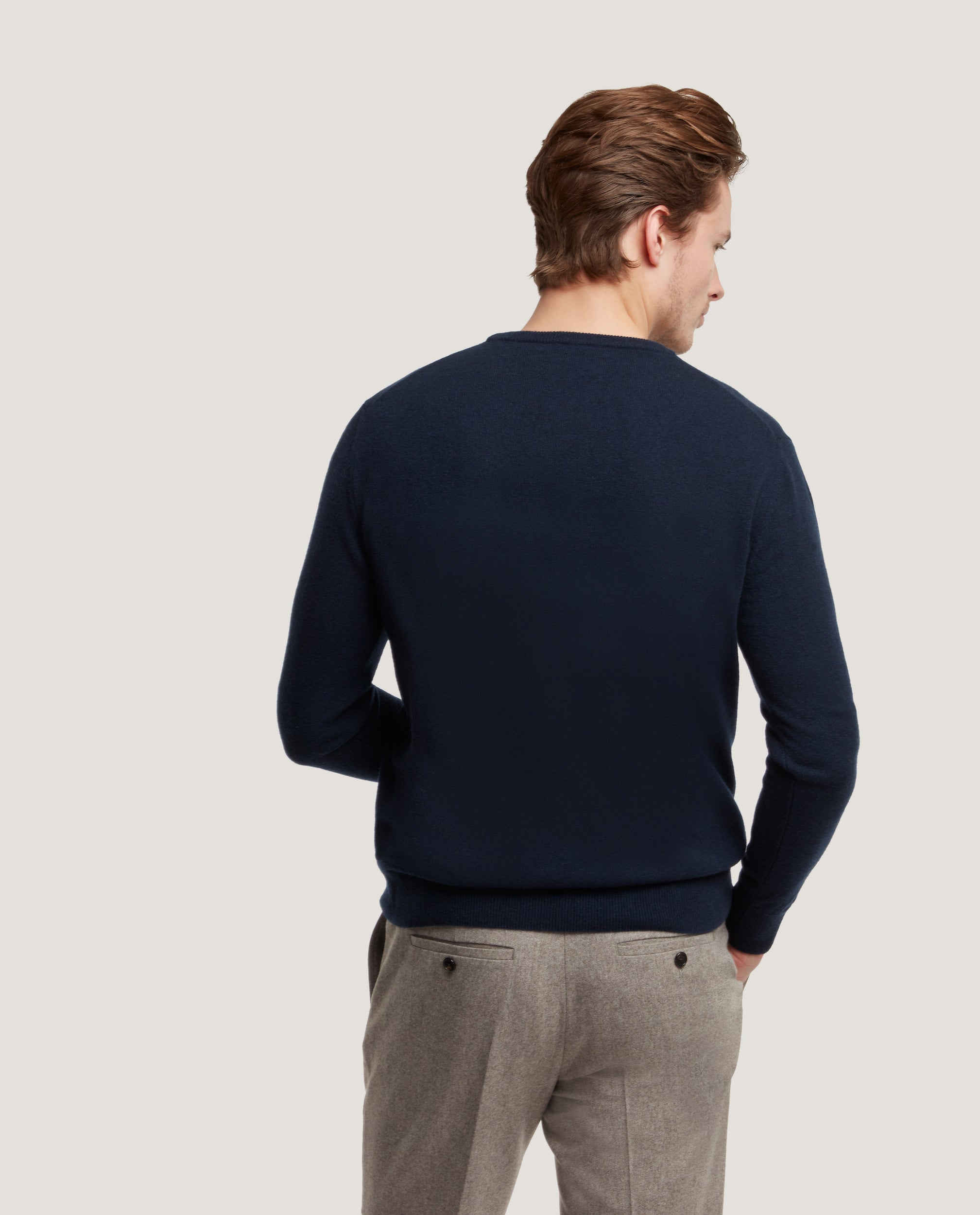 CESAIRE Crewneck sweater | 100% Cashmere | Night Blue