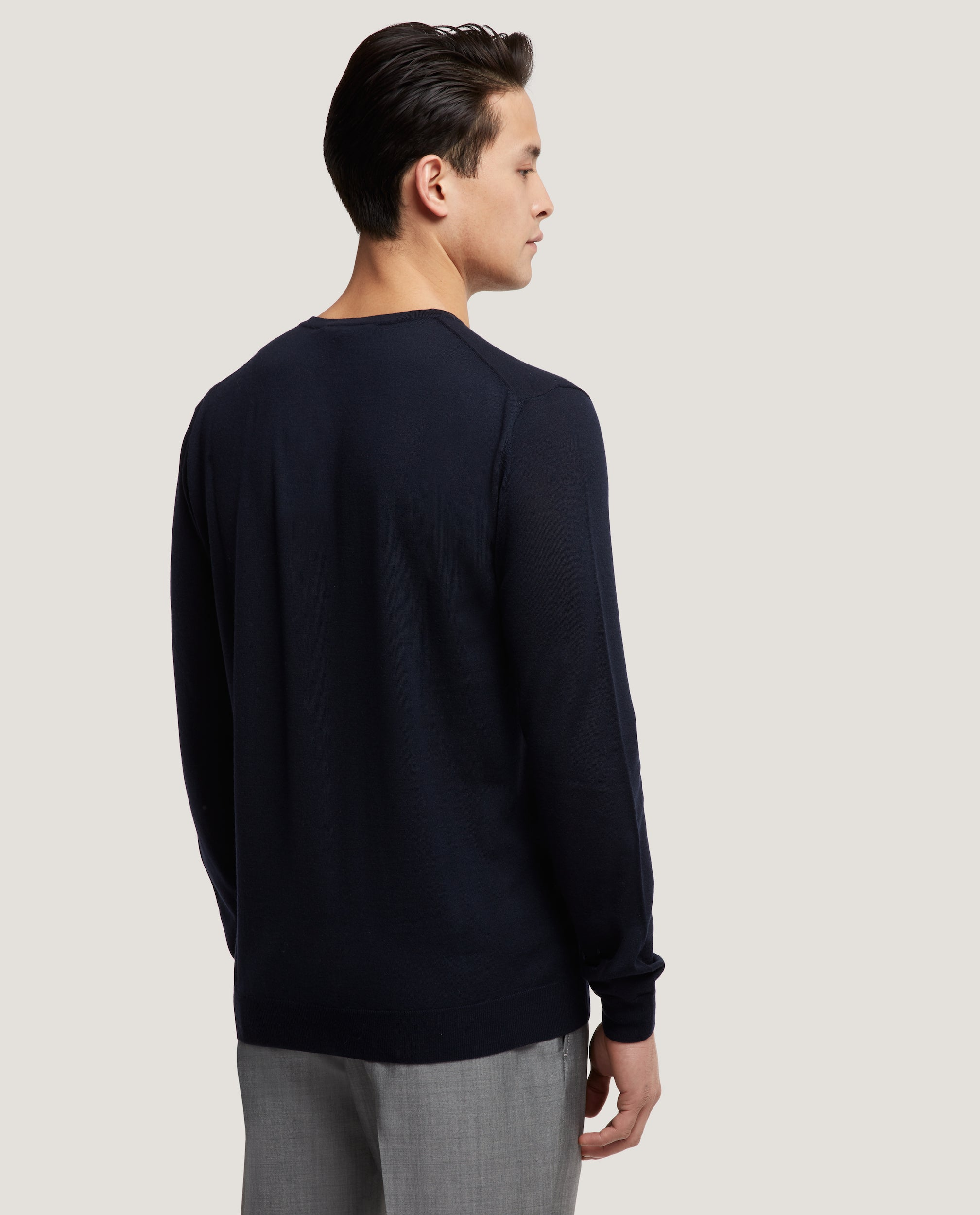 PAOL Merino wool sweater | Night Blue