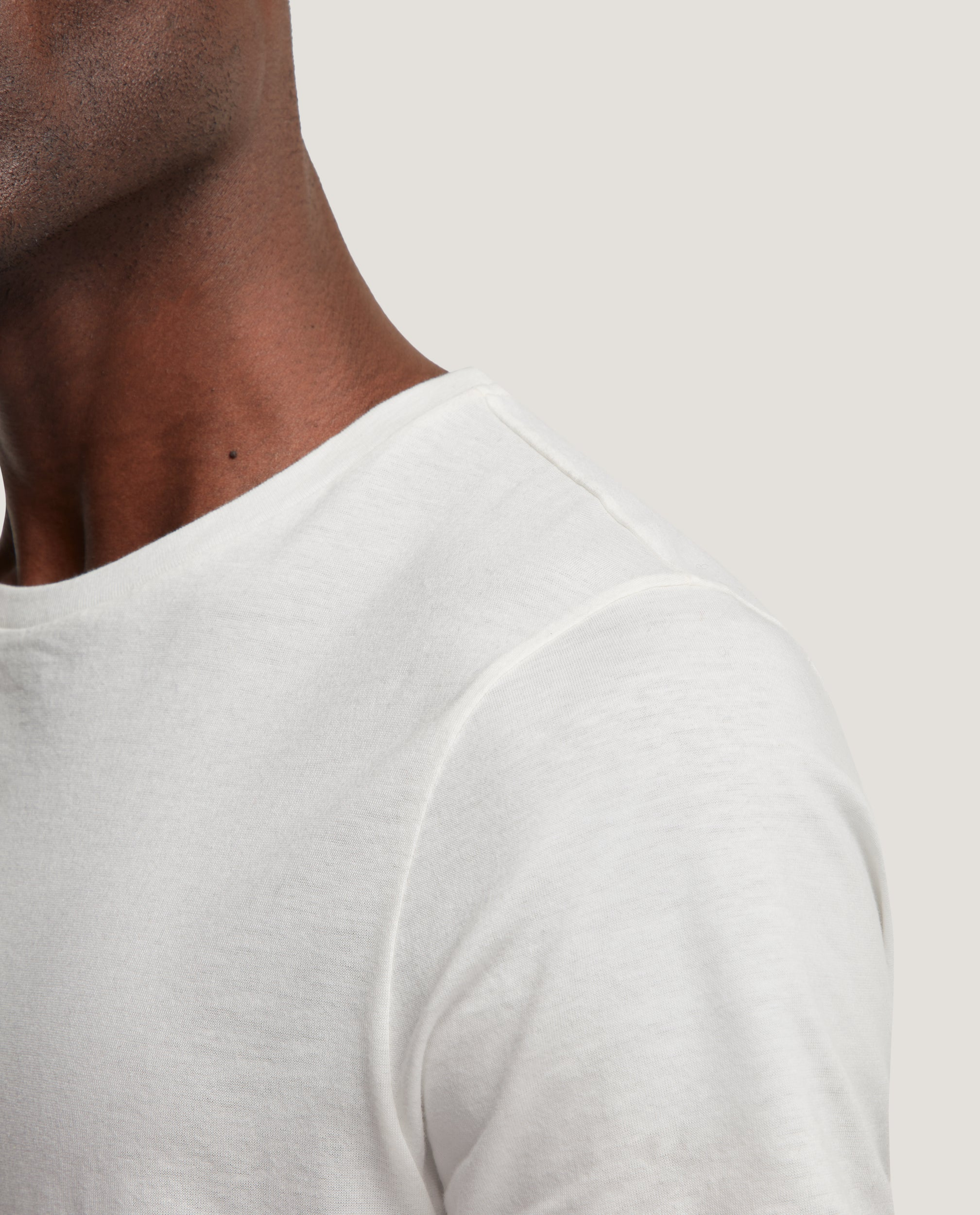 LOTHAR T-shirt | Cotton | Off White