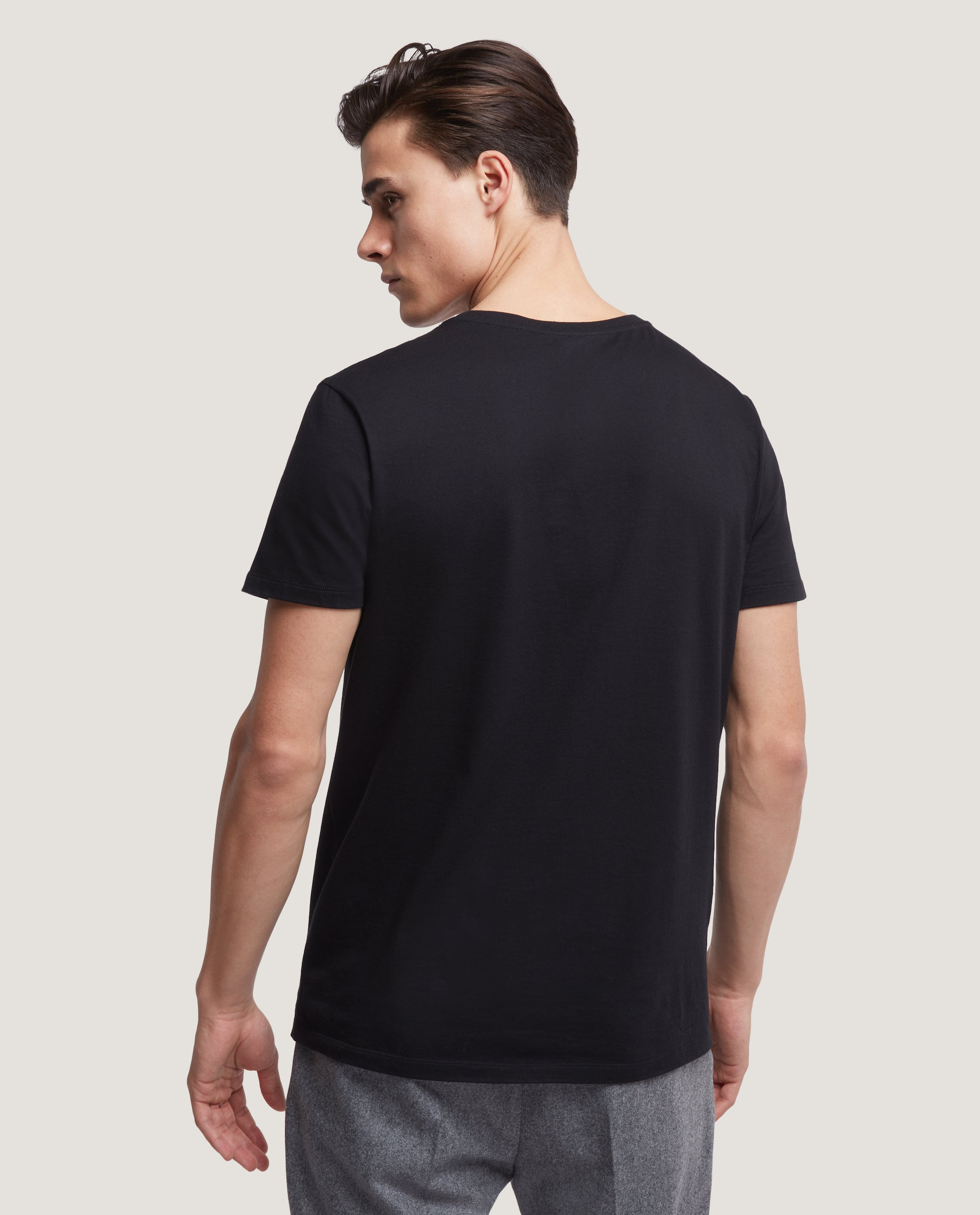 LOTHAR T-shirt | Cotton | Black