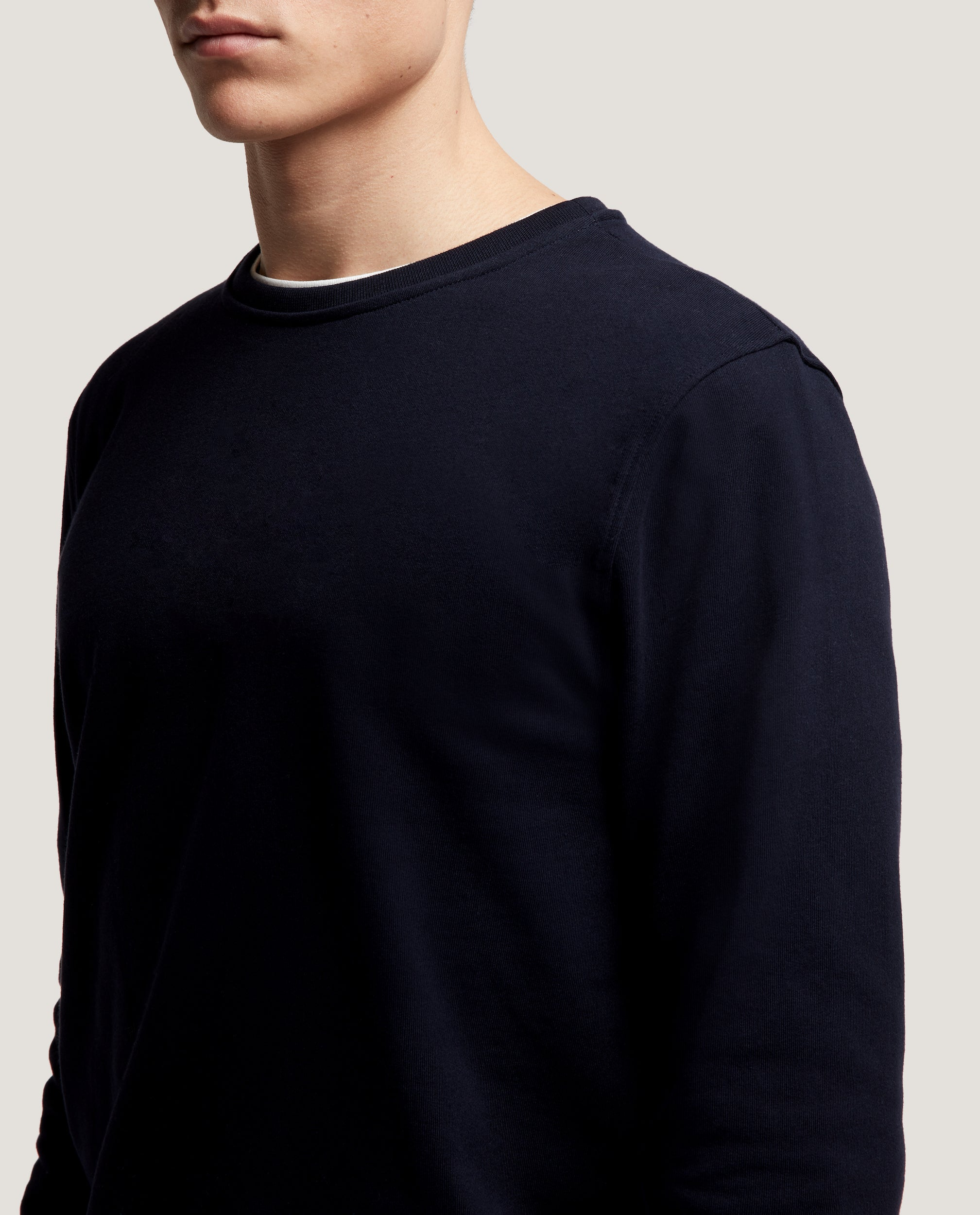 FILIPPE Cotton Sweatshirt | Night Blue