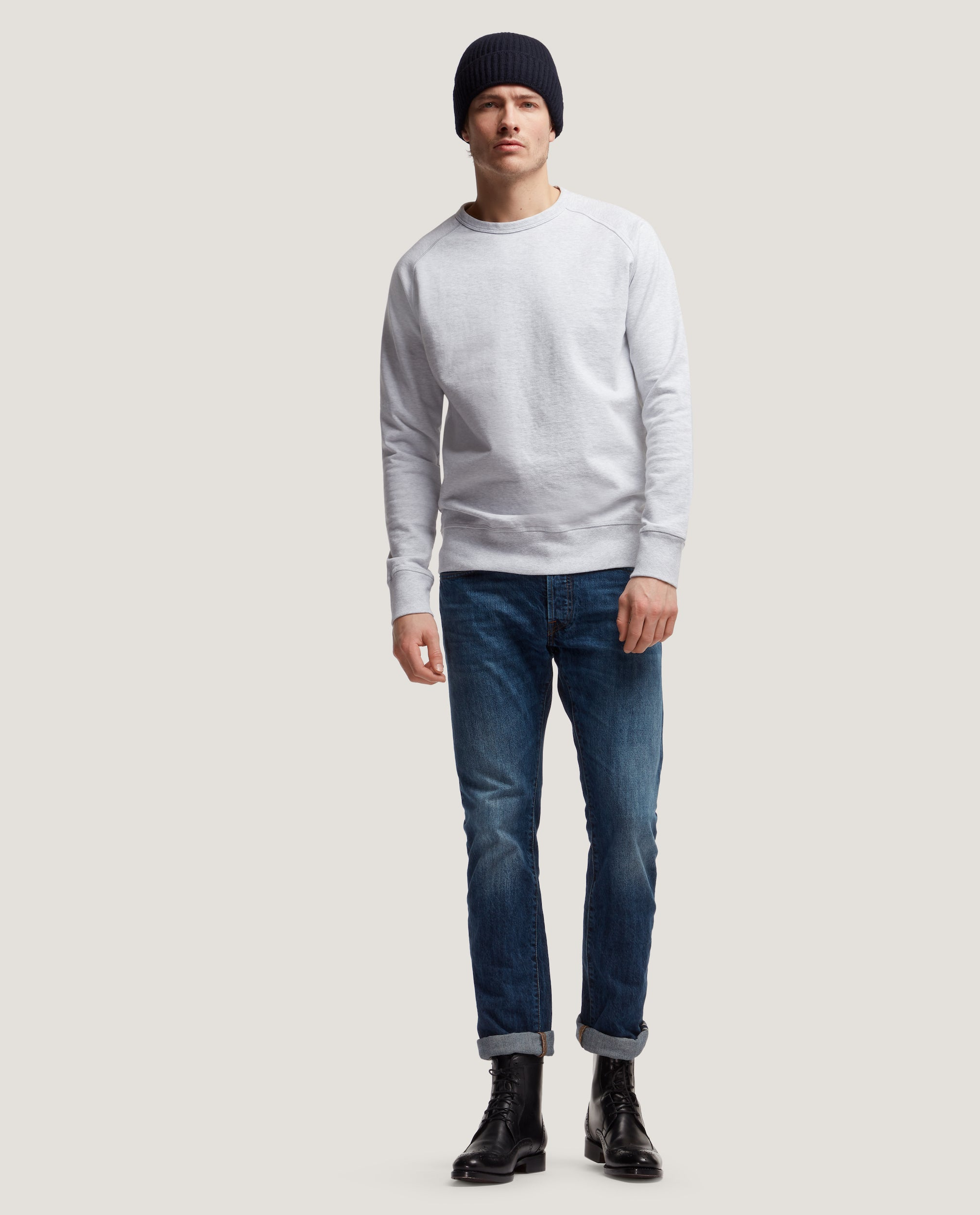 COLE Cotton sweatshirt | Raglan sleeves