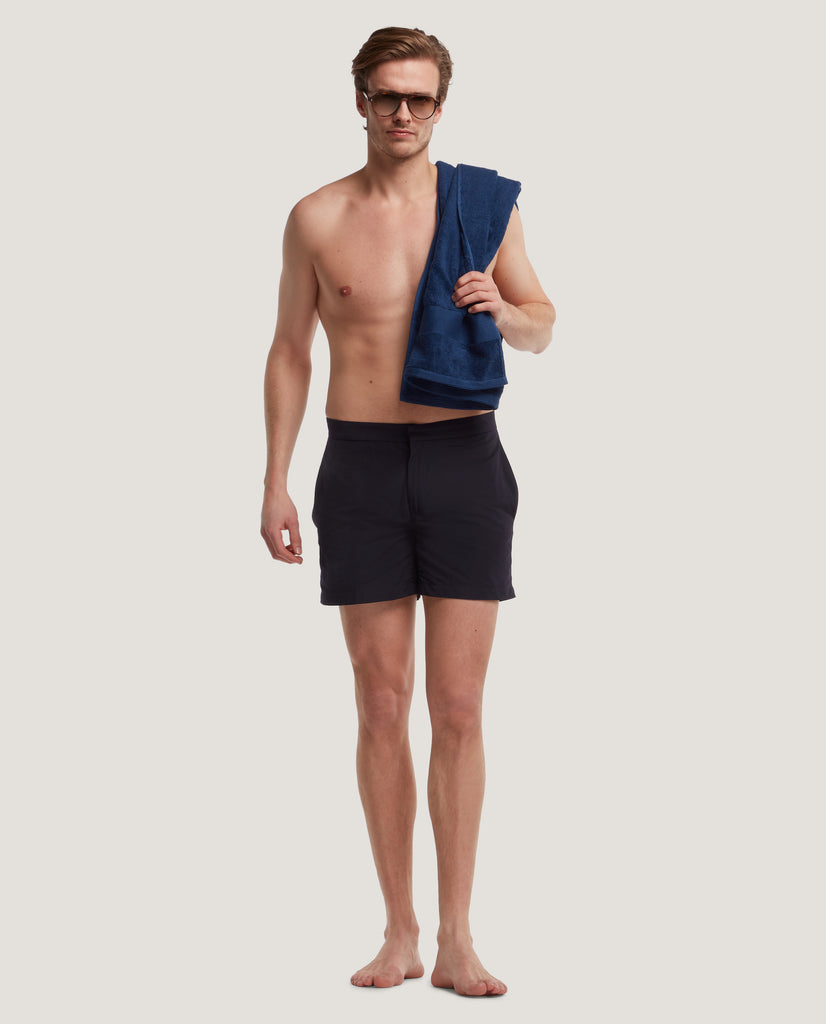 IVAR Swim shorts | Medium length | Night Blue by Salle Privée