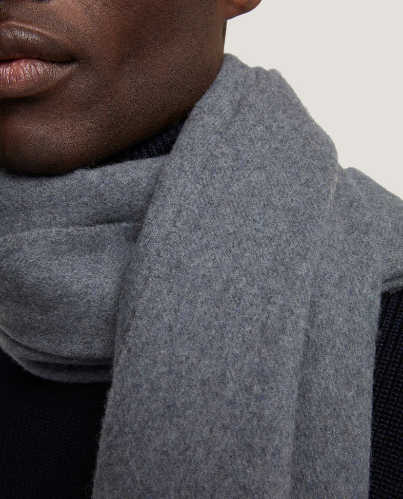 JANNE Scarf | Heavy wool-cashmere blend by Salle Privée