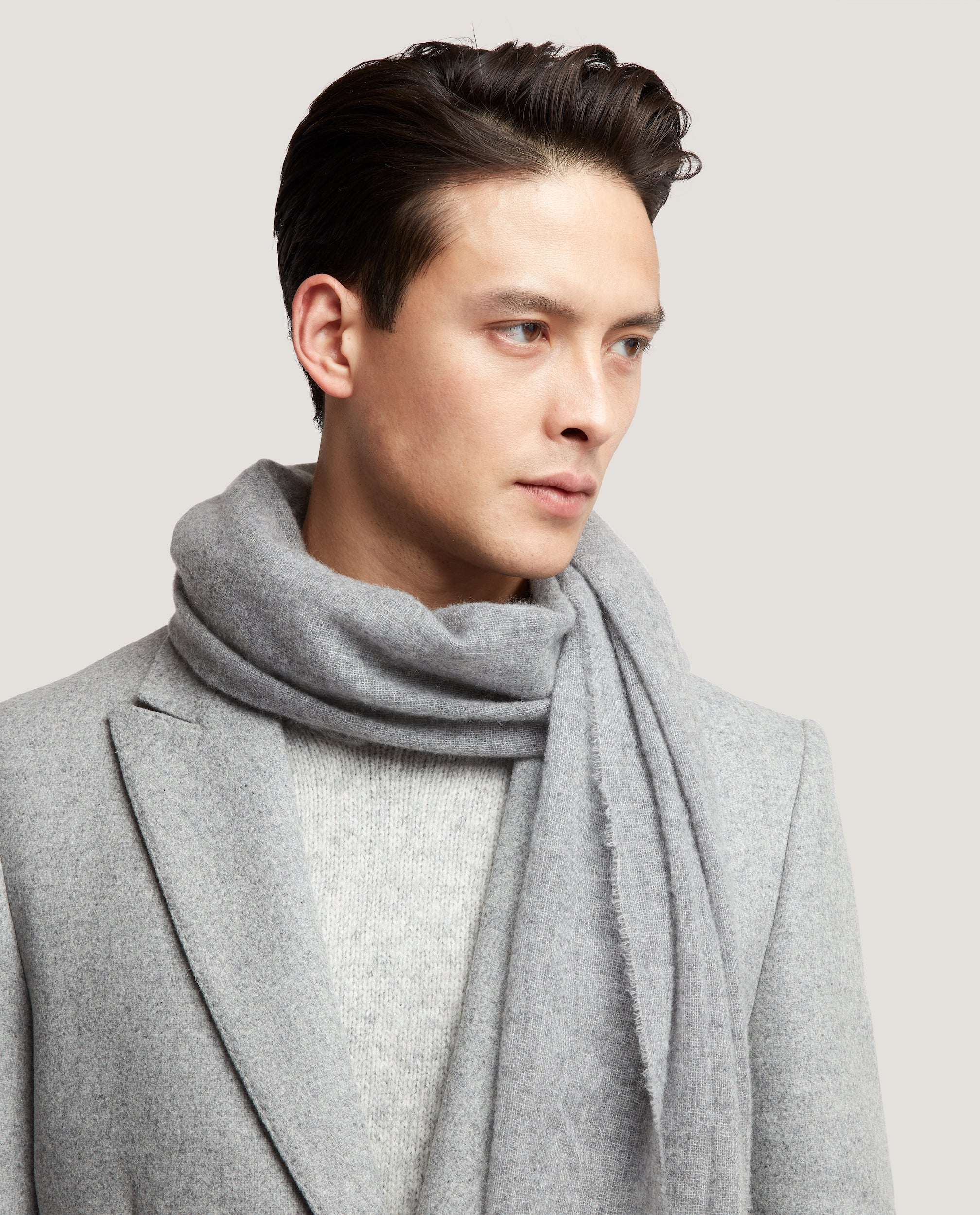 RUNE Scarf | Light cashmere