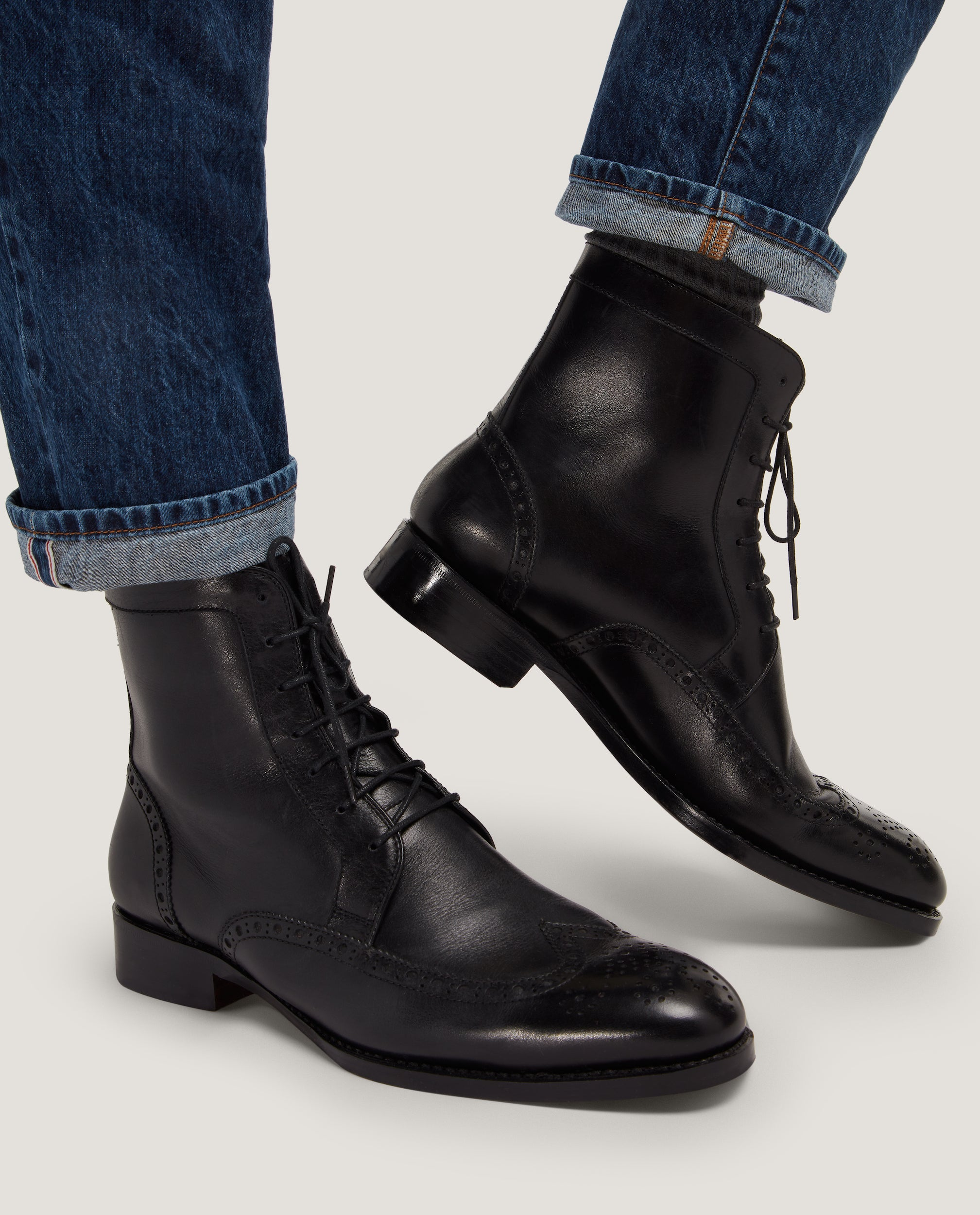 ADAM Lace-Up Boot