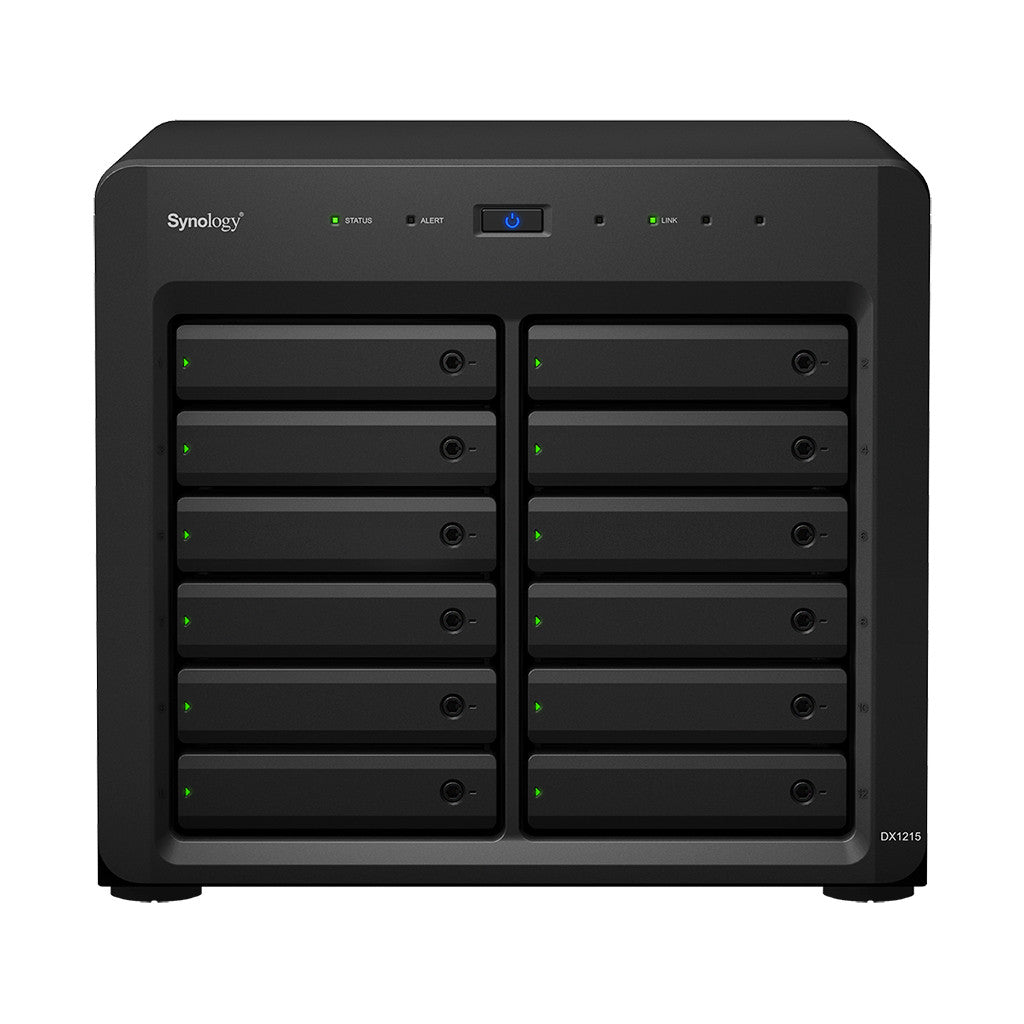 Synology DX1215 12 Bays Expansion Unit for DS3612xs, DS3611xs, DS2413+