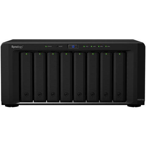 Synology DS2015xs 8 Bays (Expandable up to 20 Bays 120TB),Quad Core 1.7 GHz CPU, 4GB DDR3 RAM (Expandable up to 8GB)