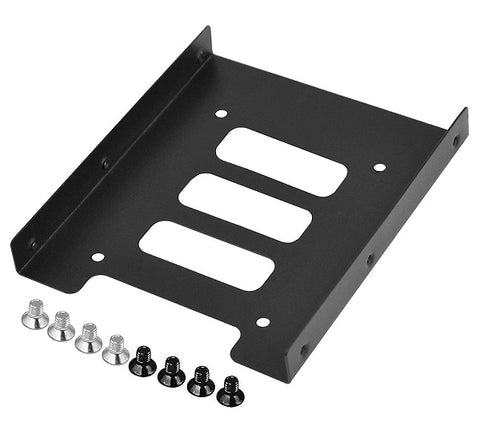 2.5 Inch SSD HDD to 3.5 Inch Metal Mounting Adapter Bracket with Screw