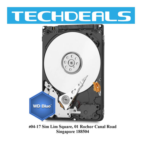 "WD Blue 2.5"" 5400RPM SATA 6GB/s"