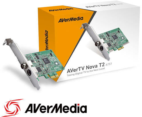 AVerTV Nova T2  PCTV solution for watching digital TV. Moreover, it supports MPEG-2, MPEG-4, and H.264 HDTV formats up to 1080p/720p, rendering its full HD TV display crystalline and crisp