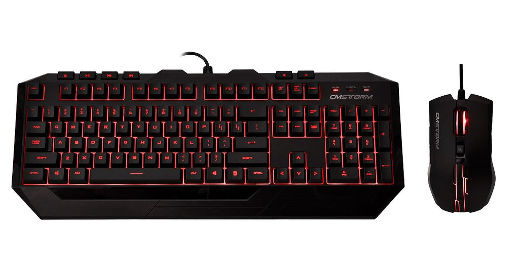 Coolermaster Devastator Ii Red Led Combo (2Y)