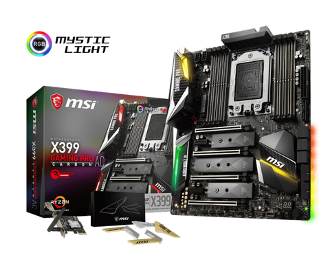 MSI X399 Gaming Pro Carbon AC TR4 Ryzen Motherboard