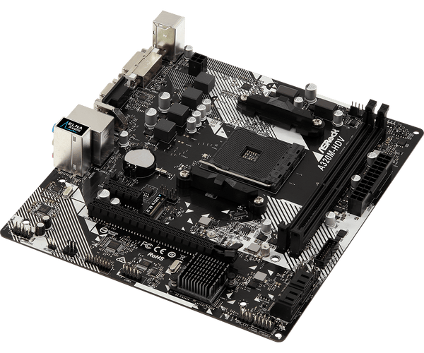 A320M-HDV R4.0 AMD AM4 Socket mATX Motherboard