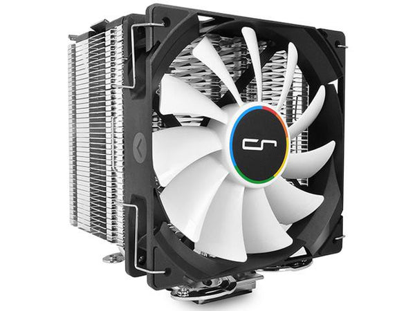 Single Tower Heatsink Air Cooler with 1 x QF120 120mm Fan | for Intel and AMD | H7