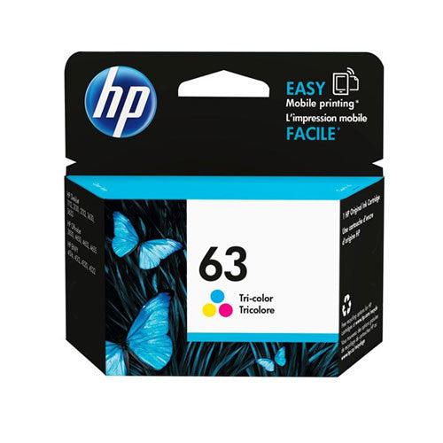 HP 63 Tri-Color Ink Cartridge F6U61AA