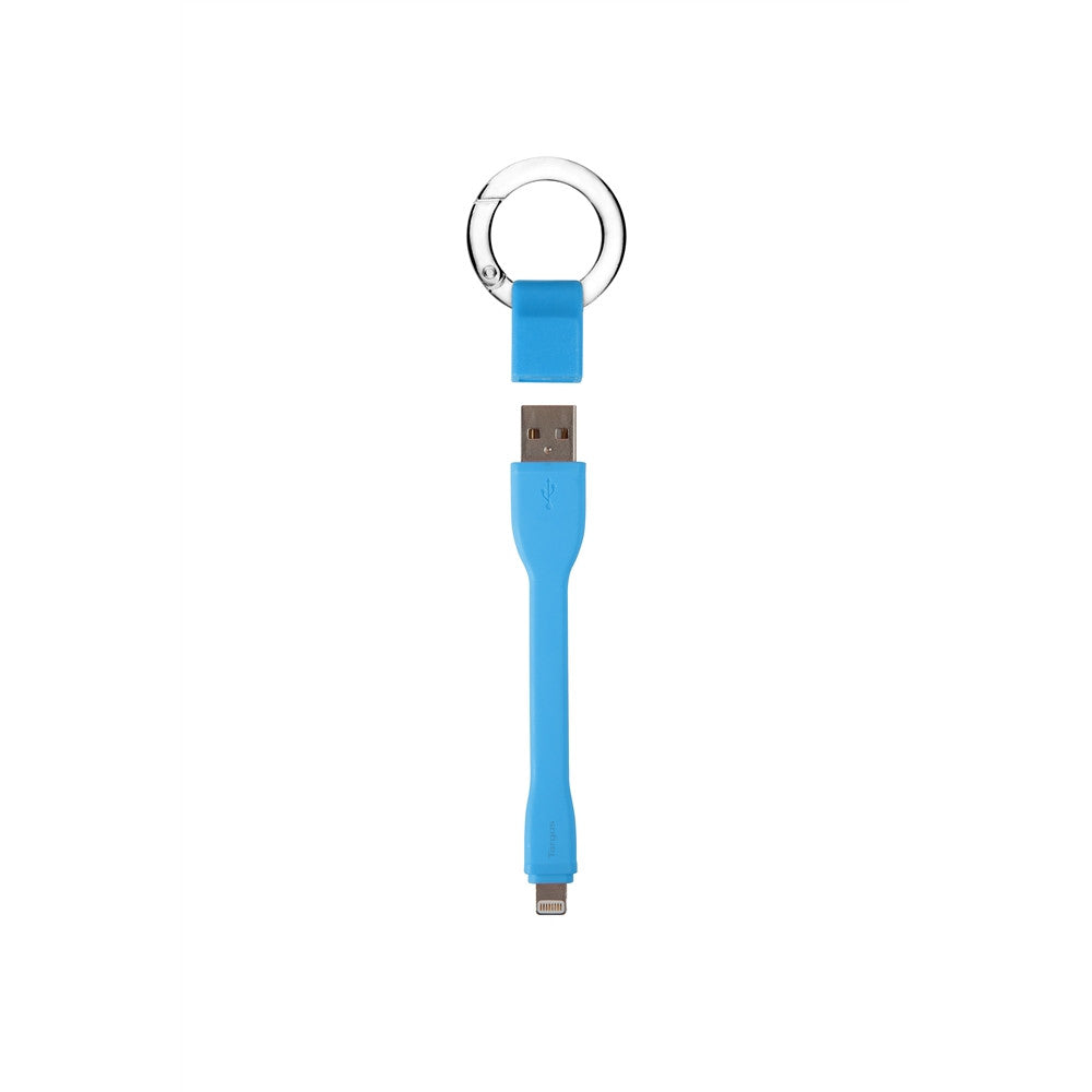 Targus ACC99603AP-50 Ring Buckle Lightning Cable (9cm) - Blue