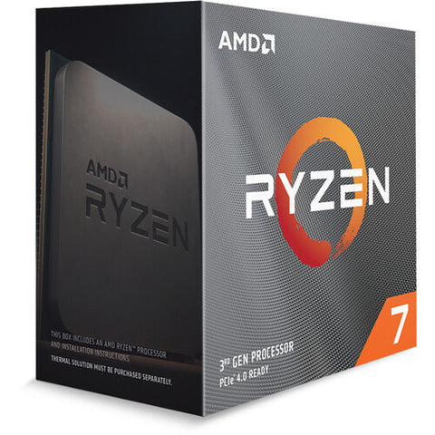 RYZEN 7 3800XT 8 Cores Processor without Cooler