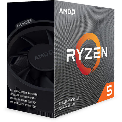Ryzen 5 3600X Processor with Wraith Spire Cooler