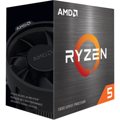Ryzen 5 5600X Socket AM4 CPU Processor  up to 4.6GHz