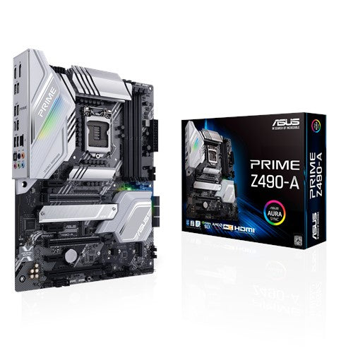 PRIME Z490-A Intel 10th Gen Socket 1200 ATX Motherboard