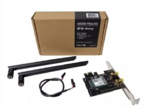 AX200 AC3000 + BT5.0 PCIe x1 Wireless Network Adapter Kit